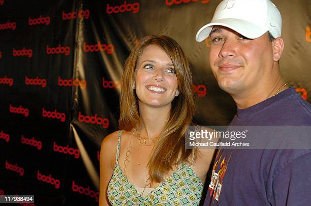 Amber Brkich and Rob Mariano during bodognet Salute to the Troops Charity Event Benefitting Military Charity Fisher House Foundation Poker Tournament...