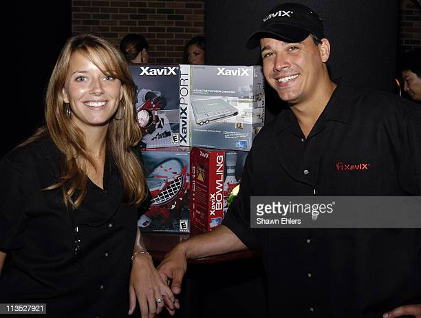 Amber Brkich and Rob Mariano during Reality Television Stars Introduce the New Reality in Audion Video Interaction at ESPN Building in New York City...