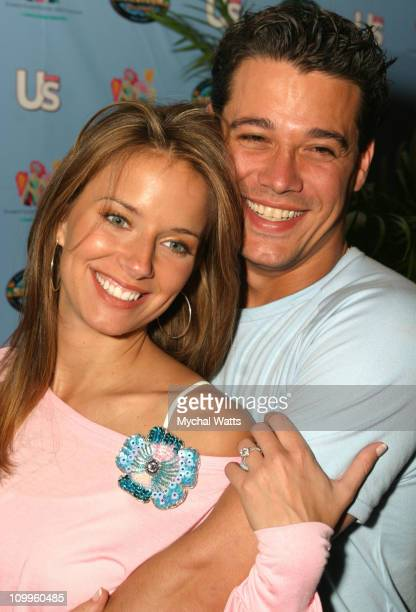 Amber Brkich and Rob Mariano during Survivor Americas Tribal Council After Party at Club Suede in New York City New York United States