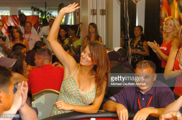 Amber Brkich during bodognet Salute to the Troops Charity Event Benefitting Military Charity Fisher House Foundation Poker Tournament at Kahala...