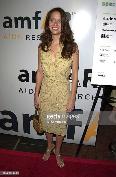 Amber Brkich from Survivor during amfAR's 10th Annual Boathouse Rock Dance Party and Celebrity Kiss Auction at Loeb Boathouse in Central Park in New...
