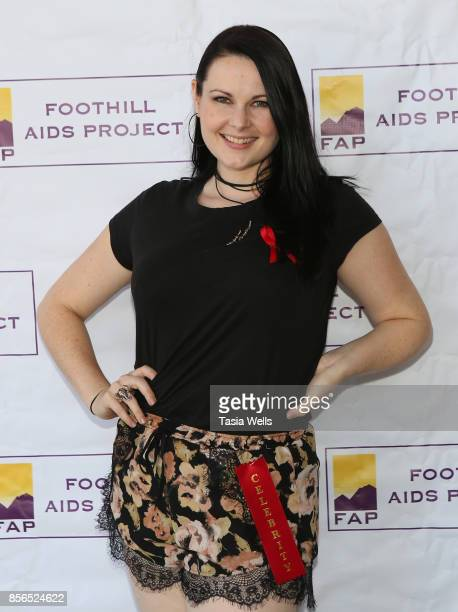 Amber Brook Wallace at Southern California's Foothill AIDS Project Balls O' Fire Celebrity Bowling Tournament at Brunswick Zone Deer Creek Lanes on...