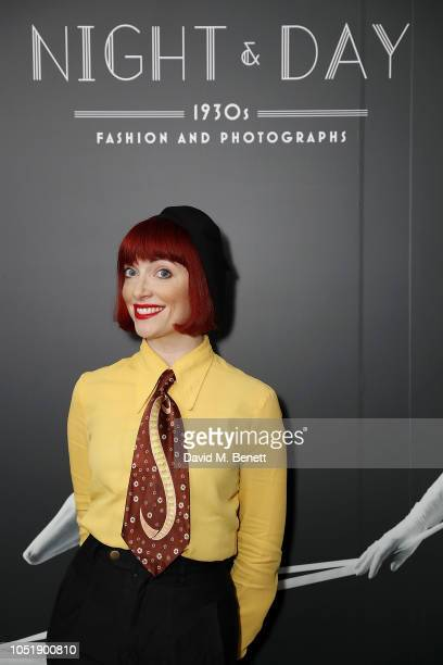 Amber Butchart at the Fashion and Textile Museum as they launch their winter 2018 exhibition at The Fashion and Textile Museum on October 11 2018 in...