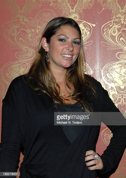 Amber Campisi attends Lindsey Vuolo's 30th birthday celebration at the Hurricane Club on October 22 2011 in New York City