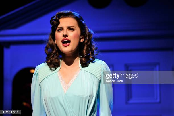Amber Davies as Judy Bernly in 9 To 5 The Musical directed by Jeff Calhoun at The Savoy Theatre on February 14 2019 in London England