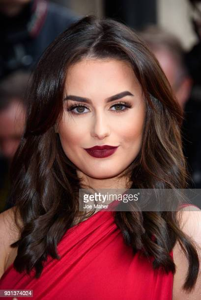 Amber Davies attends the TRIC Awards 2018 held at The Grosvenor House Hotel on March 13 2018 in London England