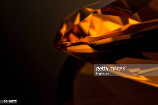 Amber diamond-Nahaufnahme