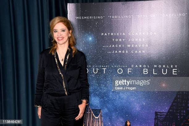 Amber DoigThorne and director Carol Morley attend the Out of Blue preview screening at Picturehouse Central on March 26 2019 in London England