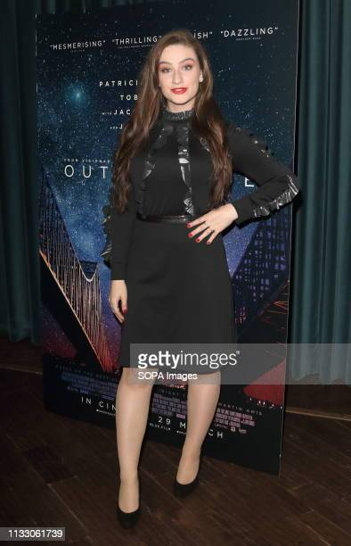 Amber DoigThorne at the Out of Blue Exclusive Screening at Picturehouse Central Piccadilly