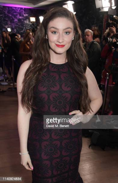 """Amber Doig-Thorne attends a special screening of """"John Wick: Chapter 3 - Parabellum"""" at The Ham Yard Hotel on May 3, 2019 in London, England."""