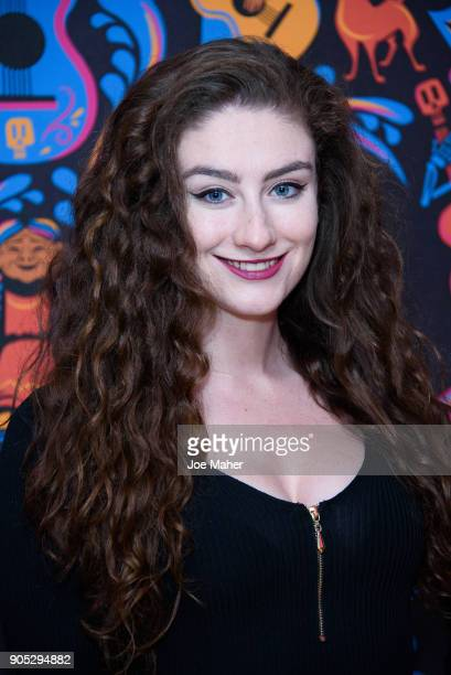 Amber DoigThorne attends the gala screening of Disney Pixar's 'COCO' held at One Marylebone on January 15 2018 in London England
