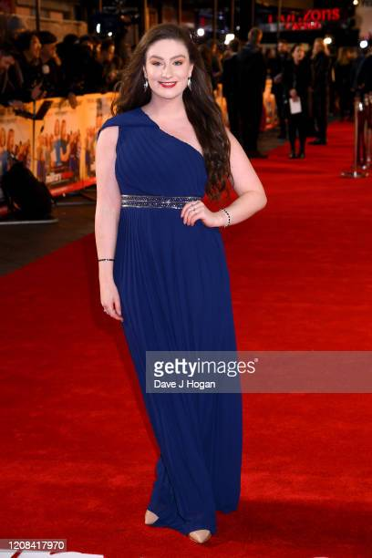 Amber DoigThorne attends the Military Wives UK Premiere at Cineworld Leicester Square on February 24 2020 in London England