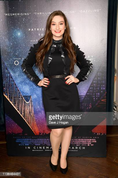 Amber DoigThorne attends the Out of Blue preview screening at Picturehouse Central on March 26 2019 in London England