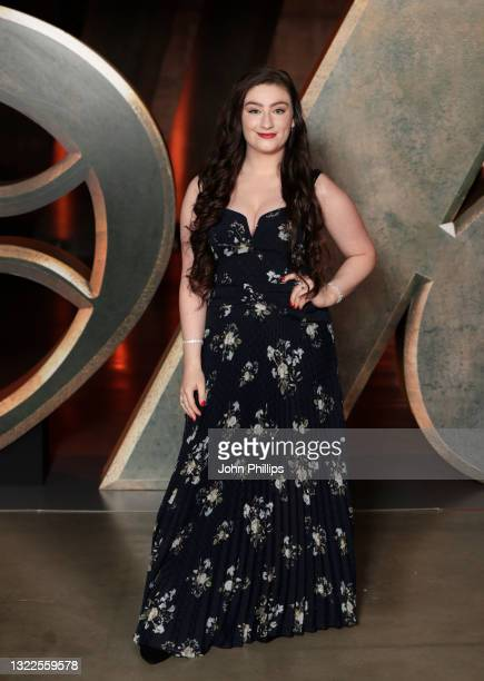 Amber Doig-Thorne attends the Special Screening of Marvel Studios' series LOKI on June 08, 2021 in London, England. LOKI will stream exclusively on...