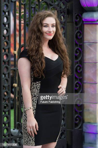 Amber DoigThorne attends the UK film premiere of 'The House with a Clock in Its Walls' at Westfield White City in London September 05 2018 in London...