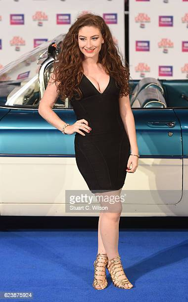 Amber DoigThorne attends the UK Premiere of Joe Casper Hit The Road USA at Cineworld Leicester Square on November 17 2016 in London England