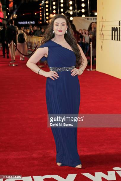 Amber DoigThorne attends the UK Premiere of Military Wives at at The Cineworld Leicester Square on February 24 2020 in London England