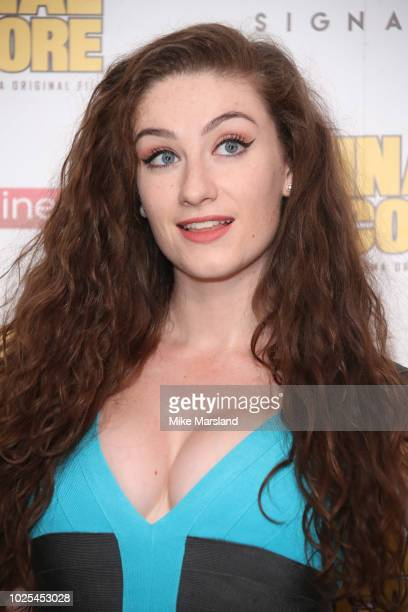 Amber DoigThorne attends the World Premiere of Final Score at Ham Yard Hotel on August 30 2018 in London England