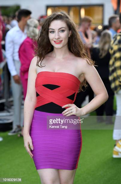 Amber DoigThorne attends the World Premiere of 'The Festival' at Cineworld Leicester Square on August 13 2018 in London England