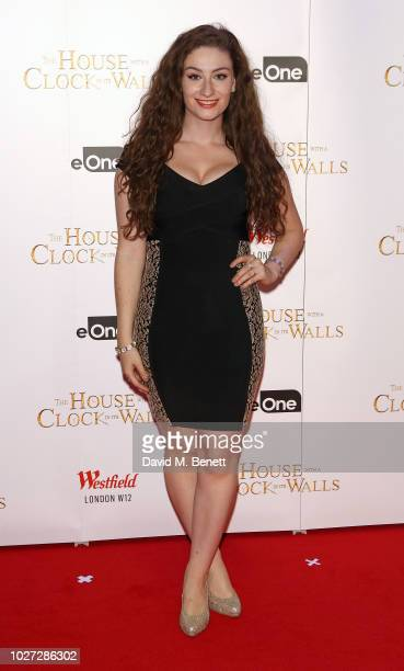 Amber DoigThorne attends the World Premiere of 'The House With A Clock In Its Walls' at Westfield White City on September 5 2018 in London England