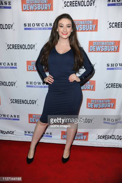 Amber DoigThorne seen during the Destination Dewsbury UK premiere A premiere of a new British comedy about five friends who reunite for one last road...