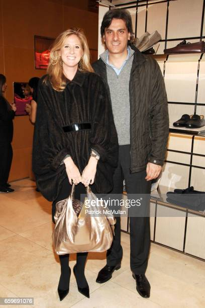 Amber Estabrook and Simone Poggi attend TOD'S and VOGUE Event to Benefit SAVE VENICE at TOD'S on March 11 2009 in New York