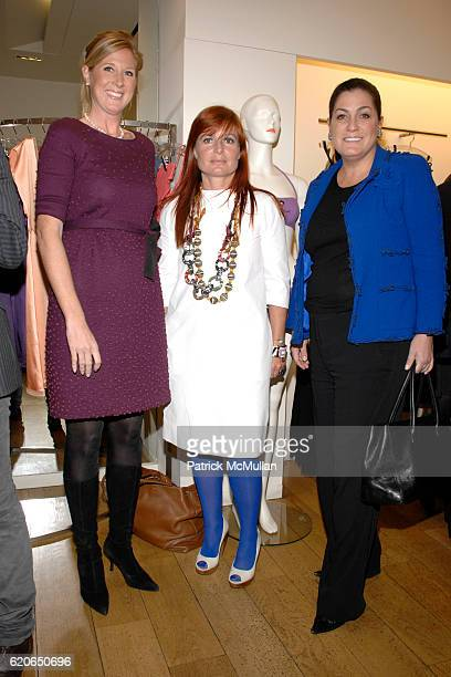 Amber Estabrook Celine Kaplan and Connie Ann Phillips attend VOGUE ERES and The American Museum of Natural History Present The FIRST LOOK Preview of...
