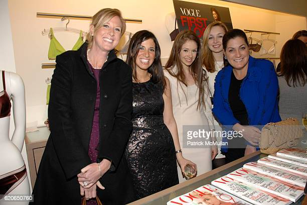 Amber Estabrook Emily Shapoff Stephanie LaCava Lauren Indvik and Connie Ann Phillips attend VOGUE ERES and The American Museum of Natural History...