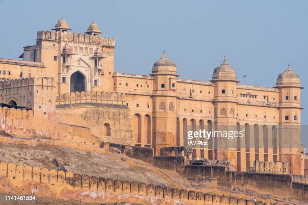 Amber Fort in Jaipur, India.