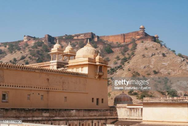 amber fort in rajasthan - marek stefunko stock pictures, royalty-free photos & images