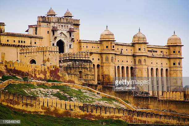 amber fort - jaipur - amber fort stock pictures, royalty-free photos & images