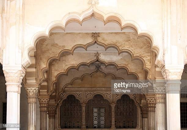 Amber Fort in Jaipur im Bundesstaat Rajasthan, Indien.