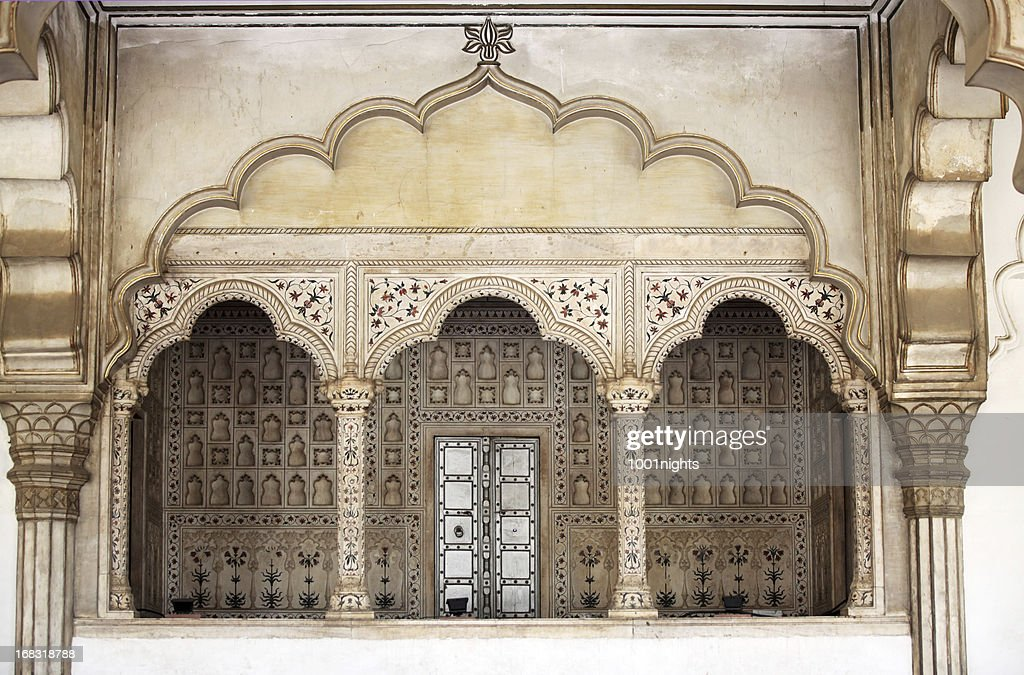 Amber Fort near Jaipur in Rajasthan state, India. : Stock Photo