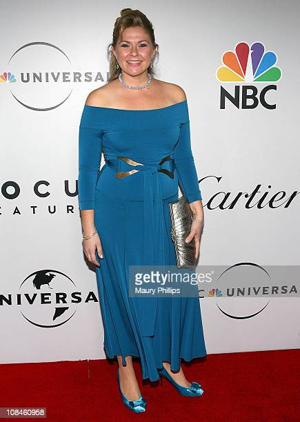 Amber Frakes attends the Universal and Focus Features After Party for the 66th Annual Golden Globe Awards held at the Beverly Hilton Hotel on January...