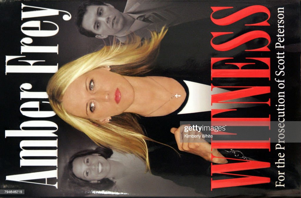 Release of Amber Frey's Memoir of Her Relationship With Convicted Murderer Scott Peterson : News Photo