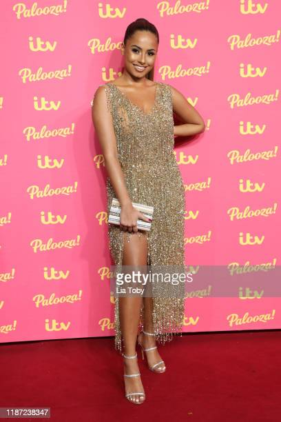 Amber Gill attends the ITV Palooza 2019 at The Royal Festival Hall on November 12 2019 in London England