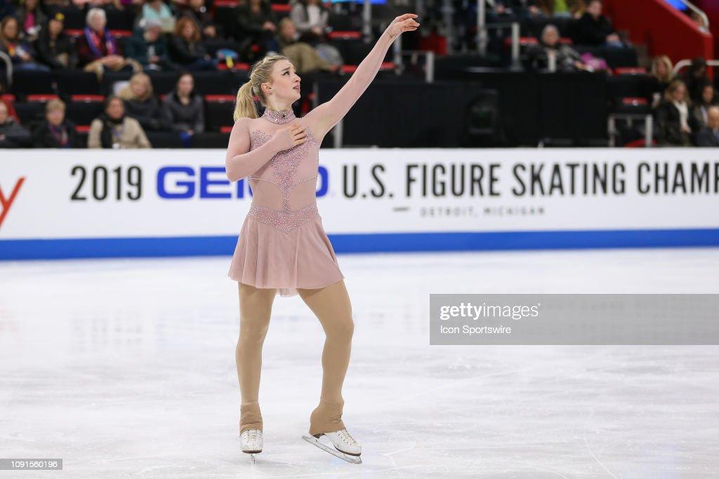 FIGURE SKATING: JAN 24 US Figure Skating Championships : News Photo