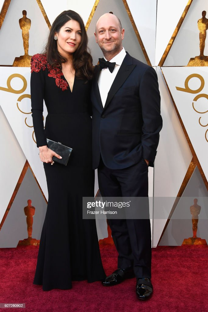 Amber Green (L) and Michael Green attend the 90th Annual Academy Awards at Hollywood & Highland Center on March 4, 2018 in Hollywood, California.
