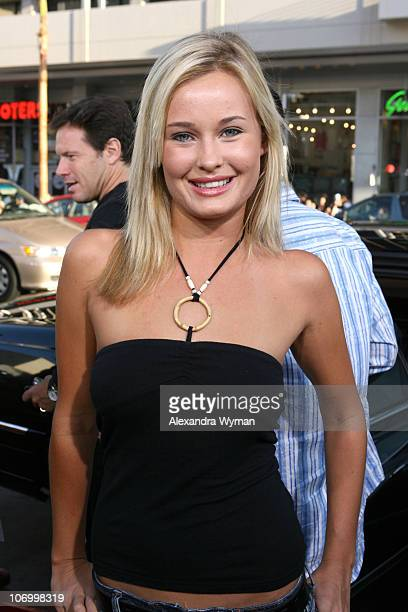 Amber Hay during 'Beerfest' Los Angeles Premiere Red Carpet at Grauman's Chinese in Hollywood California United States