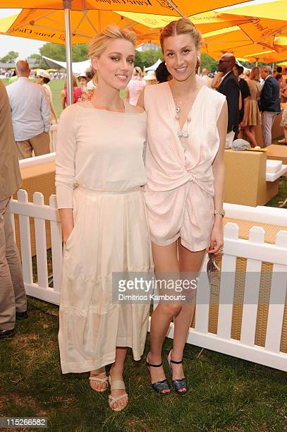 Amber Heard and Whitney Port attend the Veuve Clicquot Polo Classic at Governor's Island on June 5 2011 in New York City