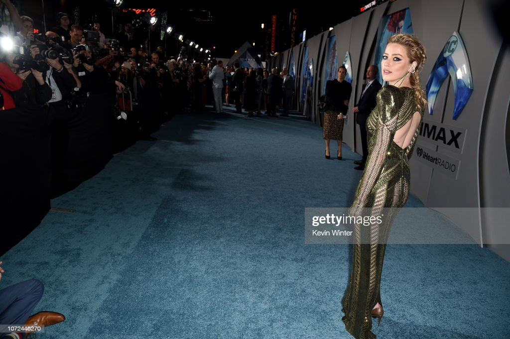 "Premiere Of Warner Bros. Pictures' ""Aquaman"" - Red Carpet : News Photo"