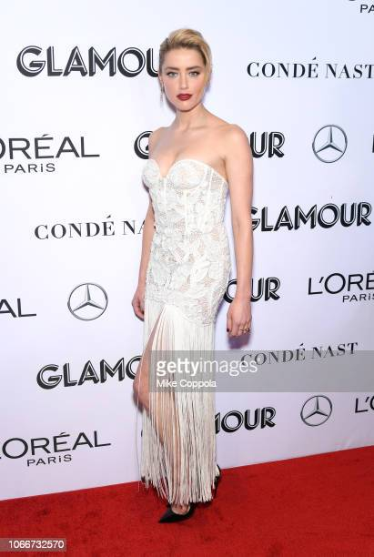 Amber Heard attends Glamour Women of the Year Awards 2018 at Spring Studios on November 12 2018 in New York City