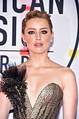 los angeles ca amber heard attends