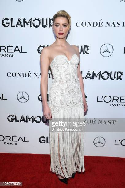 Amber Heard attends the 2018 Glamour Women Of The Year Awards Women Rise on November 12 2018 in New York City