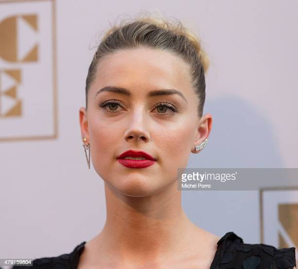 Amber Heard attends the Amsterdam premiere of 'Magic Mike XXL' on July 1 2015 in Amsterdam Netherlands