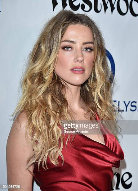 Amber Heard attends the Art of Elysium 2016 HEAVEN Gala presented by Vivienne Westwood Andreas Kronthaler at 3LABS on January 9 2016 in Culver City...