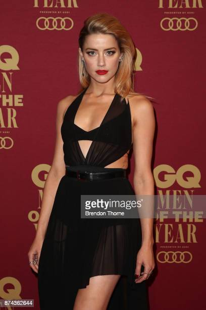 Amber Heard attends the GQ Men Of The Year Awards at The Star on November 15, 2017 in Sydney, Australia.