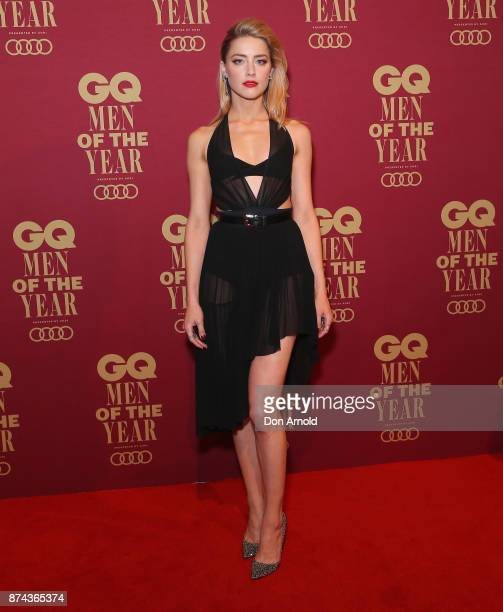 Amber Heard attends the GQ Men Of The Year Awards at The Star on November 15 2017 in Sydney Australia