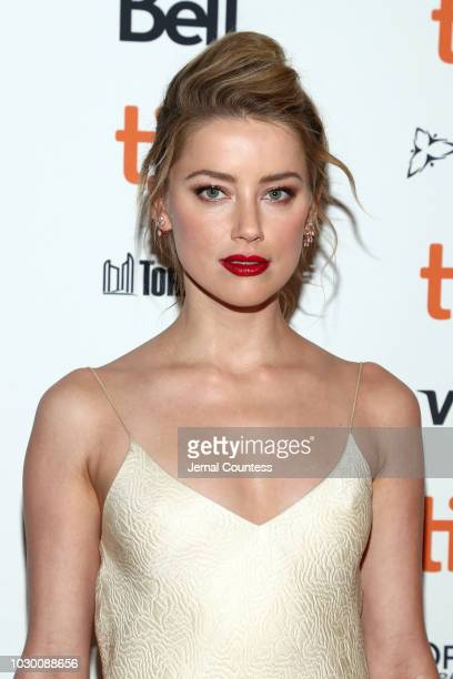 Amber Heard attends the Her Smell premiere during 2018 Toronto International Film Festival at Winter Garden Theatre on September 9 2018 in Toronto...