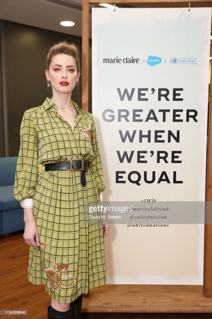 GBR: Marie Claire International Women's Day Event, In Partnership With Salesforce And United Nations
